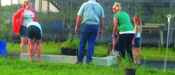 Chautauqua 4-H Club Builds Raised Garden Beds For Riverview High School ESE Students