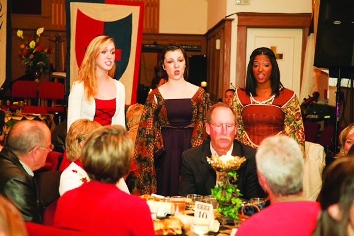 Support Newsome High School's Chorus At Its Annual Madrigal Dinner
