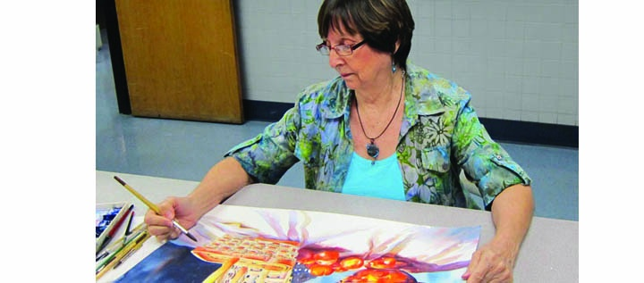 "Roxanne Tobaison's ""Into The Light, My Watercolor Journey"" Can Be Enjoyed At Center Place"