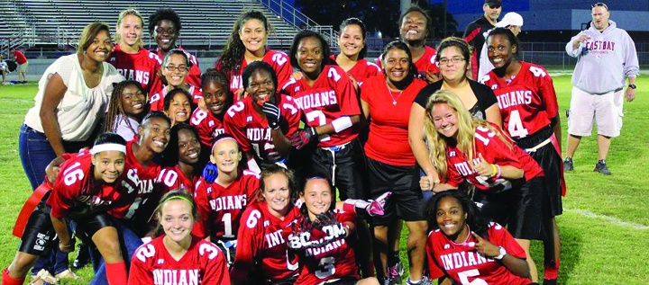 East Bay Indians Flag Football Takes Rightful Place In Library Of Congress