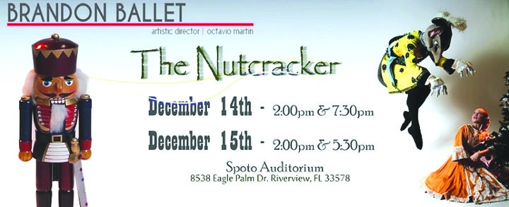 See The Holiday Classic The Nutcracker Presented By The Brandon Ballet