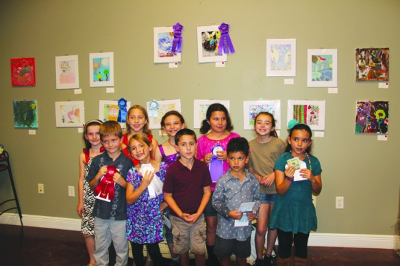 The Artwork Of Children Is Celebrated At The 3rd Annual Small Works Art Show