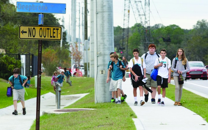 Parents Urged To Put Safety First, Respect Traffic Laws & Personal Property Near Riverview School