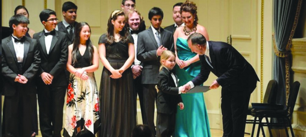 Brandon Boy Charms Audience At Carnegie Hall In New York City