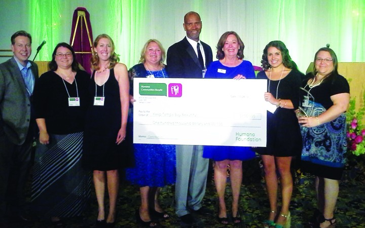 Keep Tampa Bay Beautiful Receives $100K Grant From Humana