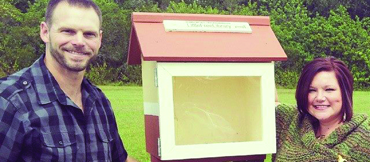 Reading Encouraged Through Free Local Mini Library And Book Drive