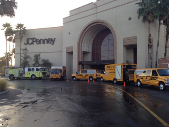 Brandon Westfield Mall JCPenney Closed After Overnight Fire