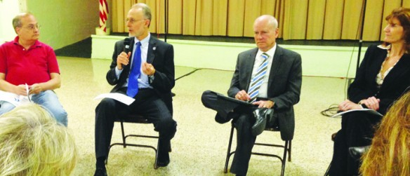 County Leaders Discuss Transportation For Economic Development Initiative