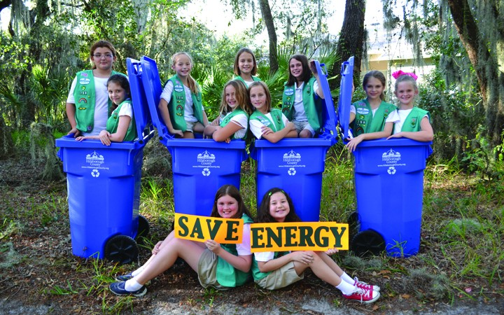 Girl Scouts Extend Challenge To Save Energy In Everyday Ways
