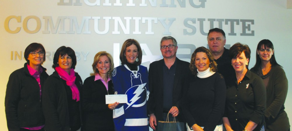 Lightning's Community Heroes Program Honors Valrico Foundation
