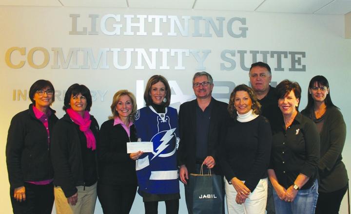 Lightning's Community Heroes Program Honors Valrico Foundation