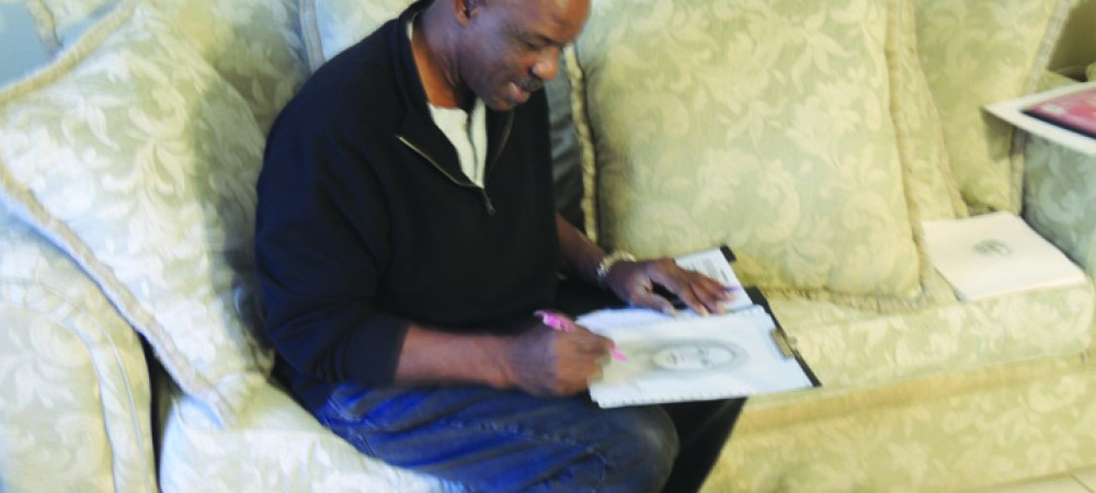 Luther Jones Of Valrico Is A Talented And Creative Artist