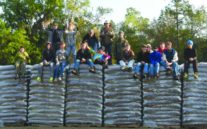 Mulch Madness Helps Boy Scouts Fund High Adventure