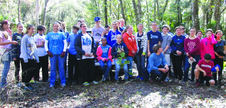 Randall Students Complete Annual Community Project