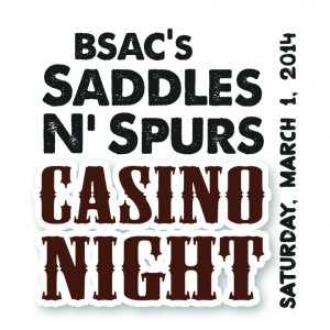 Saddles2014 Casino Night Logo