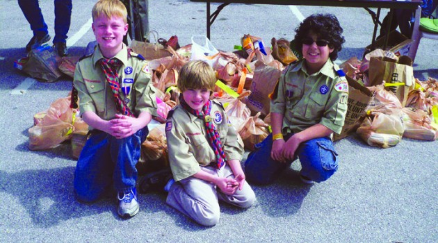 Help Fill Local Food Pantries By Participating In The Annual Scouting For Food Drive