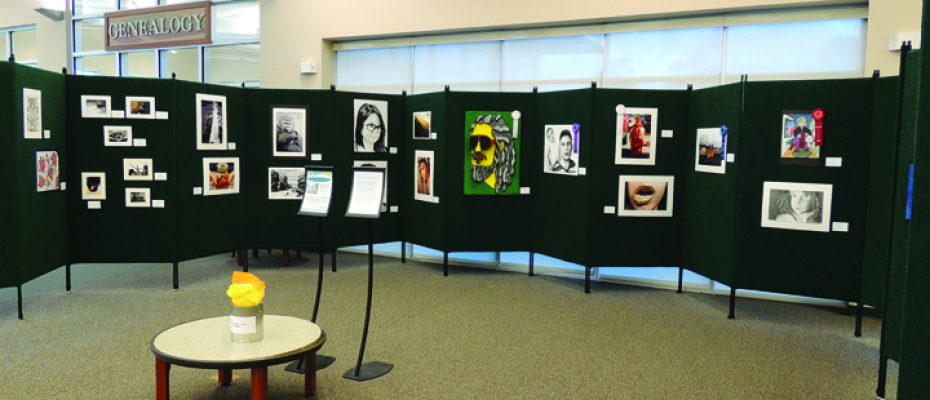 SouthShore Regional Library Showcases The Artwork Of Area High School Students