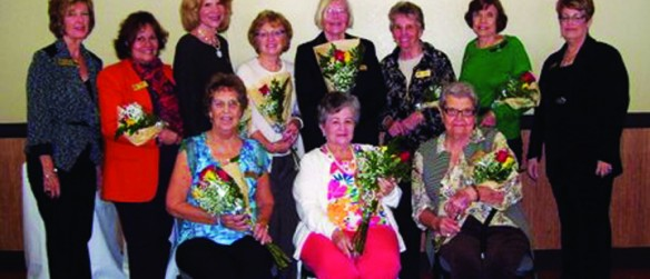 Members Of Apollo Beach Woman's Club Honored For Their Many Years Of Service