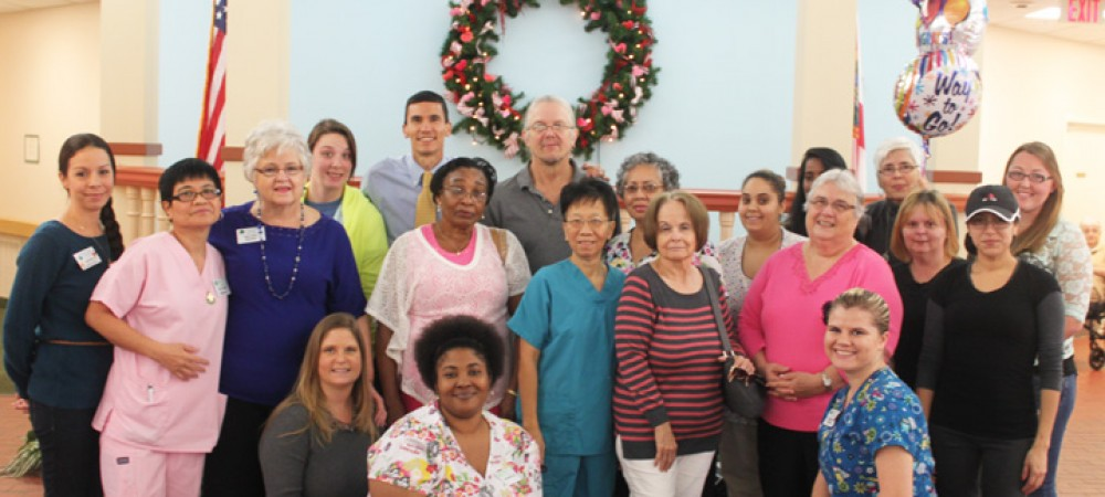 Assisted Living Facilities Celebrate Accomplishments