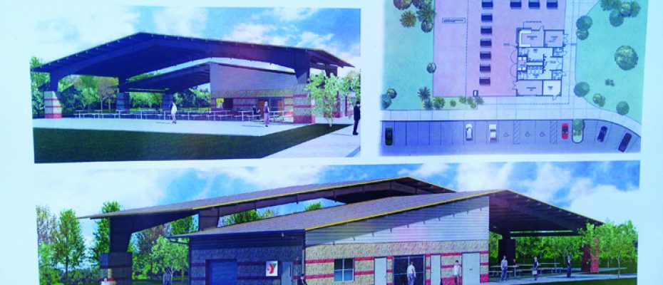 YMCA pavillion