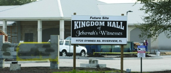 Jehovah's Witnesses Complete Double Kingdom Hall In Riverview