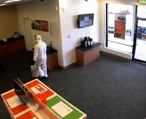 Bank Robbery Suspect #5