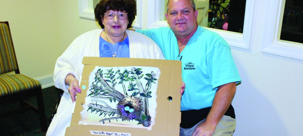 Brain Therapy Through Art At The Bridges