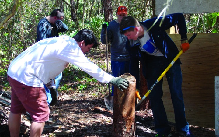 Warriors For Christ Paintball Receives Help Through Eagle Scout Project