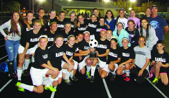 Randall Lady Hawks Win County Championship