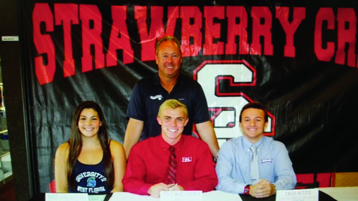 BSAC Swimmers Join List Of Student-Athletes On National College Signing Day