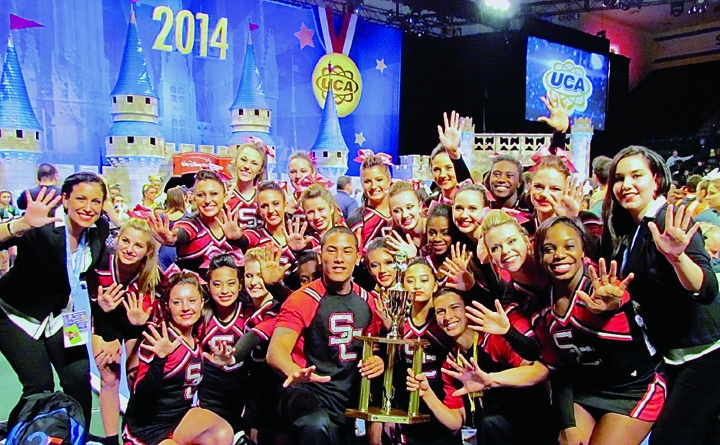 Strawberry Crest Cheer Squad Wins Western Conference