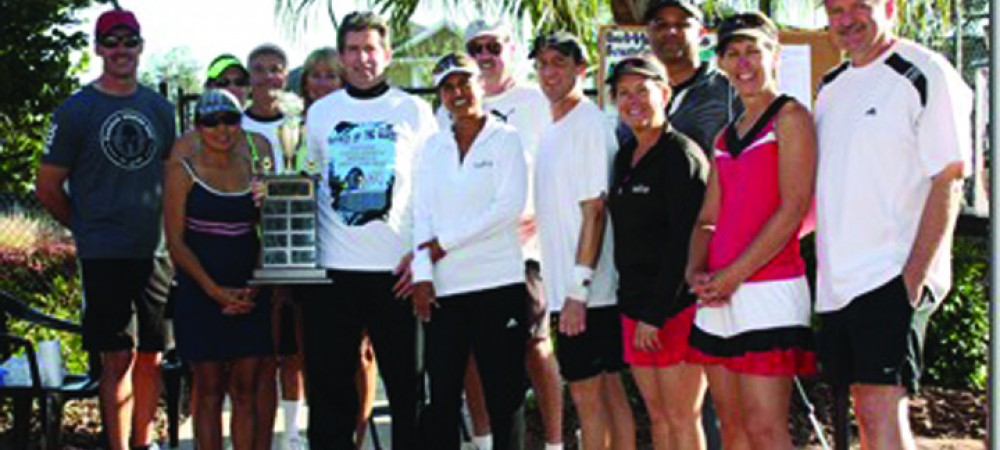 BSAC Shows Strength During Battle Of The Clubs Tennis Tourney