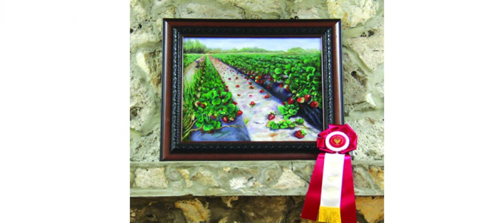 Strawberry Festival Fine Art Show Displays Talented Locals