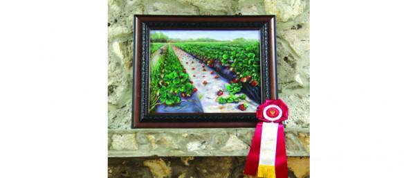 Strawberry Festival Fine Art Show Displays Talented Locals