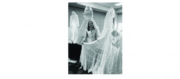 Wedding Dress Collection Includes WWII Parachute Dress