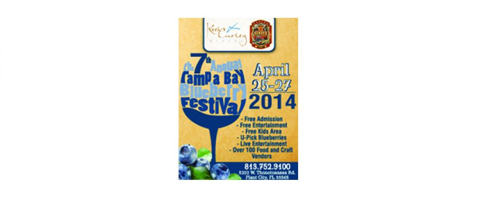 Enjoy Blueberries And More At Seventh Annual Keel & Curley Blueberry Festival