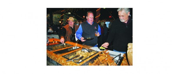 Wild Game Night Provides 'Guys Night Out' For Fathers And Sons