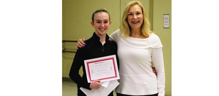 Brandon Ballet Announces Taylor Hardcastle As Scholarship Winner For 2014