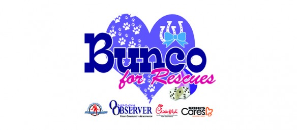 Bunco For Rescues Will Benefit Local Animal Agencies