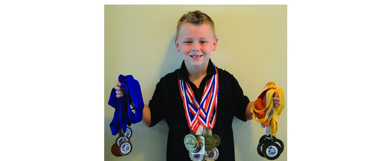 Young Gymnast Takes All Around State Title, Dreams Of Olympics