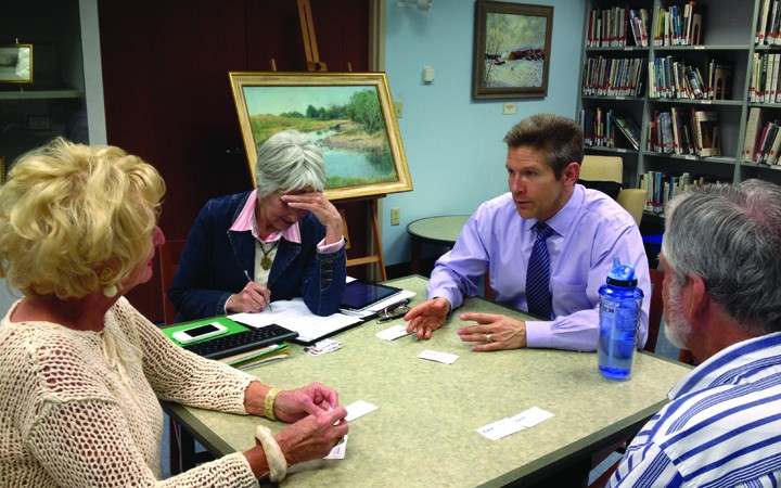 Countywide Commissioner Kevin Beckner Hears Concerns During Community Office Hour