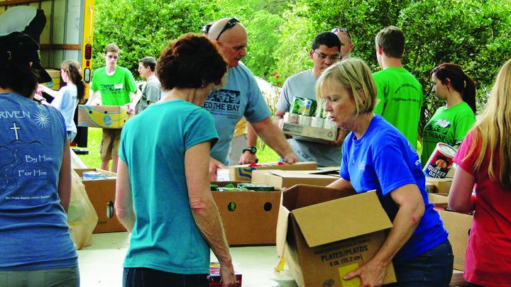 Grace Community United Methodist Members Perform Random Acts Of Kindness