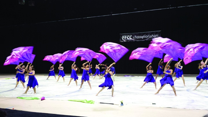 Newsome Winter Guard Wins Top Honor At State Championships