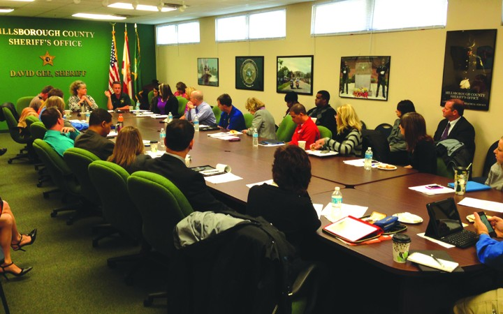 Sheriff's Office Hosts Regional PIO Meeting