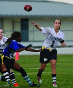 SportsCollageJessica McClernan Durant Girls Varsity Flag Football