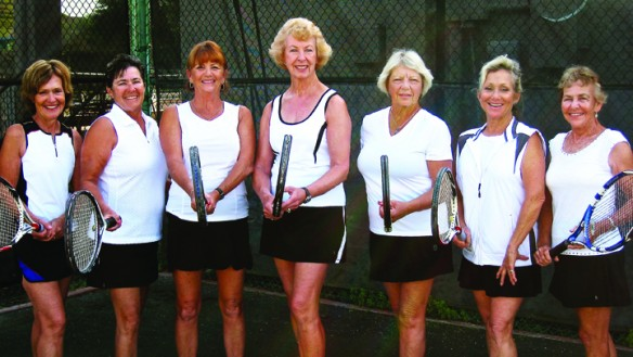 Local Senior Tennis Teams Advance To Sectional Tourney, Aiming For National Appearance
