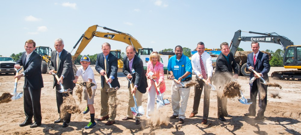 The Estuary groundbreaking