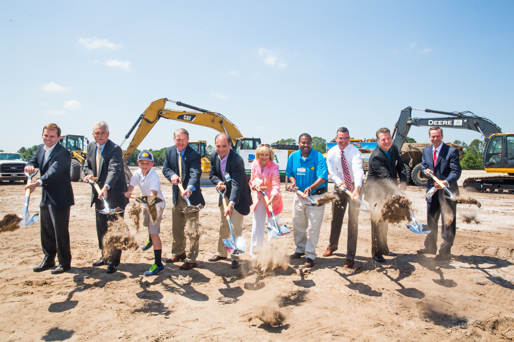 The Estuary and Bass Pro Shops Celebrate Progress with Groundbreaking Ceremony
