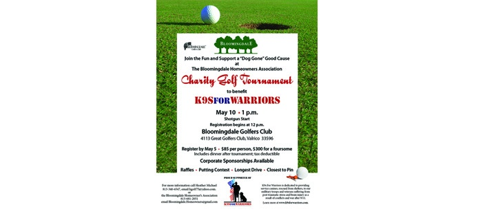 Bloomingdale Wins Awards, Hosts Golf Tourney