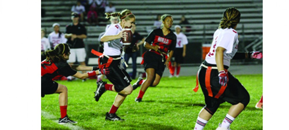 Girls Flag Football Teams Enjoy Spotlight During Spring Athletic Season